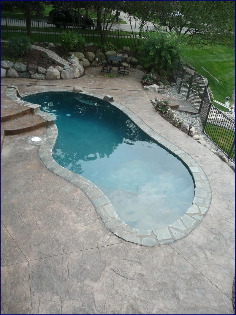 shotcrete swimming pool michigan